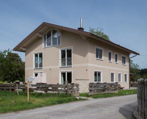 020 Fassade Einfamilienhaus