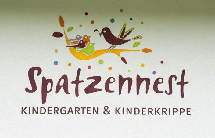 033 Logo Kindergarten Spatzennest Aschau